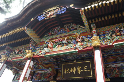 三峯神社など秩父のパワースポット観光のイメージ
